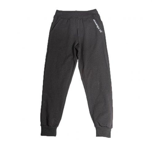Joyce μαύρο παντελόνι φόρμας για αγόρι 211790M