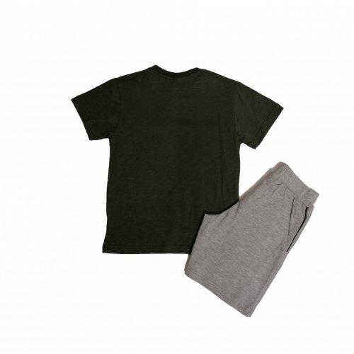 Joyce χακί σετ μπλουζάκι βερμούδα για αγόρι 211373R