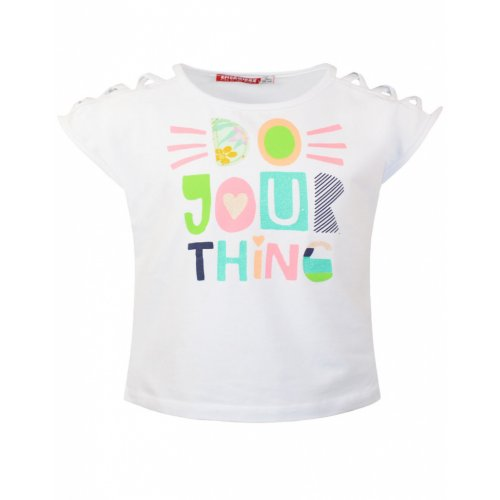 ENERGIERS T-SHIRT ΚΟΡΙΤΣΙ ΜΕ ΤΥΠΩΜΑ ΛΕΥΚΟ 15-221335-5