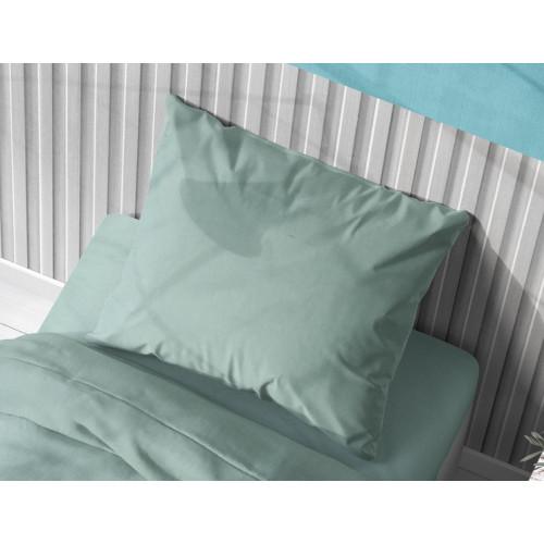 DIMcol ΜΑΞΙΛΑΡΟΘΗΚΗ  Cotton 100% 50Χ70 Solid 497 Aqua 1930813106249701
