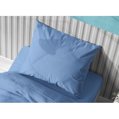 DIMcol ΜΑΞΙΛΑΡΟΘΗΚΗ  Cotton 100% 50Χ70 Solid 498 Sky blue 1930813106249882