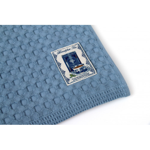 DIMcol ΠΟΤΗΡΟΠΑΝΑ  Cotton 100% 50Χ70 Kitchen 04 Classic blue 1232313106100493