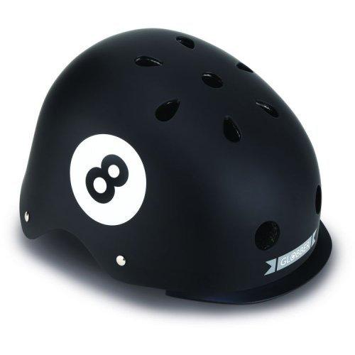 Globber Κράνος Elite Lights XS/S (48-53cm) Black 8 Ball 507-120