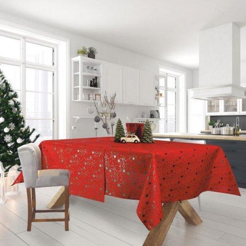 DAS HOME 0574 CHRISTMAS RUNNER 40Χ140