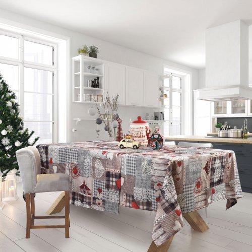 DAS HOME 0571 CHRISTMAS RUNNER 50Χ140