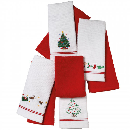 DAS HOME 0603 CHRISTMAS ΠΟΤΗΡΟΠΑΝΑ ΣΕΤ 2ΤΜΧ 40X60