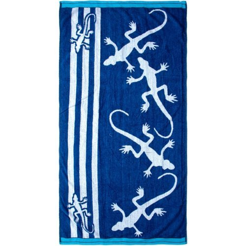 DIMcol ΠΕΤΣΕΤΑ ΘΑΛΑΣΣΗΣ ΒΕΛΟΥΤΕ ΕΝΗΛ Cotton 100% 90X170 Lizard 112 Blue 1433716482511270