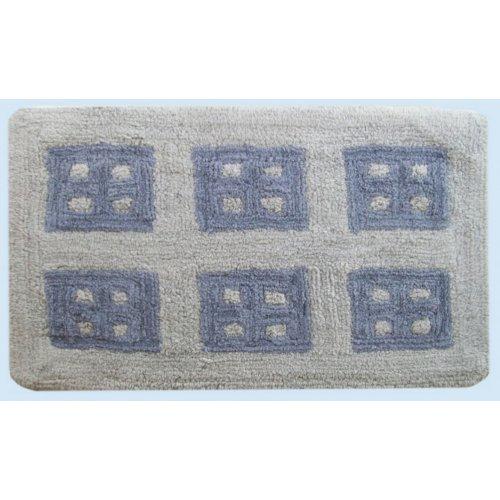 DIMcol ΠΑΤΑΚΙ ΜΠΑΝΙΟΥ ΕΝΗΛ Cotton 100% 50Χ85 Παράθυρο  Grey 1531713307500072