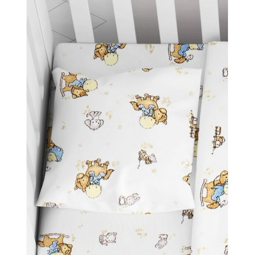 DIMcol ΜΑΞΙΛΑΡΟΘΗΚΗ ΕΜΠΡΙΜΕ ΒΡΕΦ Flannel Cotton 100% 35Χ45 Baby 04 1915857707700400