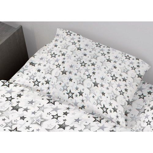 DIMcol ΜΑΞΙΛΑΡΟΘΗΚΗ ΕΜΠΡΙΜΕ ΕΝΗΛ Cotton 100% 50Χ70 Star 120 Grey 1935813107312072