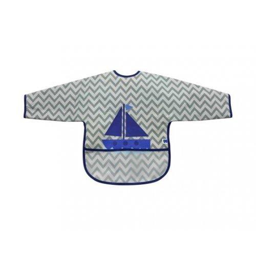 ΒΡΕΦΙΚΗ ΑΔΙΑΒΡΟΧΗ ΣΑΛΙΑΡΑ ΜΕ ΜΑΝΙΚΙΑ ΚΙΚΚΑ ΒΟΟ Boat Grey 31303030022
