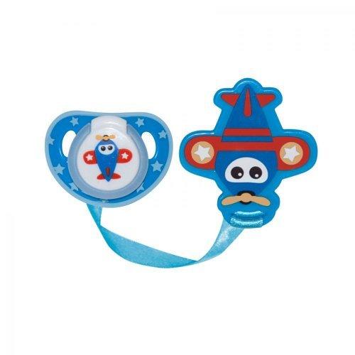 ΠΙΠΙΛΑ ΣΗΛΙΚΟΝΗΣ ΜΕ ΚΡΑΤΗΜΑ BABY CARE  1022049-BLUE