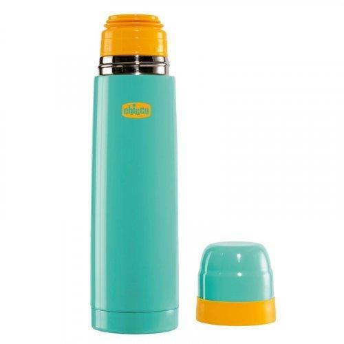Θερμός Υγρών Inox Mum&Baby 500ml Chicco E20-60183-10-Turquoise E20-60183-10-Blue