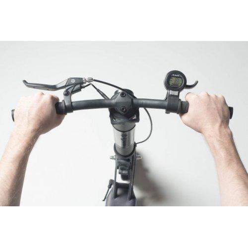 Globber One K E - Motion - Black - Charcoal Grey 497-210 - Μέγιστο Βάρος Αντοχής 100kg - (ΔΩΡΟ AΞΙΑΣ €5 ΚΟΥΔΟΥΝΙ)