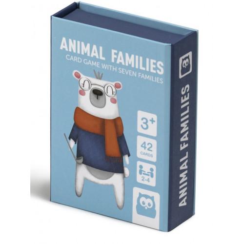 Eurekakids παιχνίδι με κάρτες Animals Family 68217023
