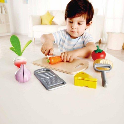 Hape Chef's Choice - Τα Υλικά Μαγειρικής Του Σεφ - 10Τεμ. E3154B