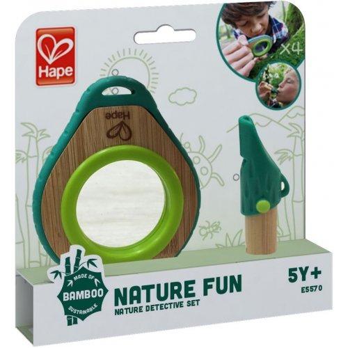 Hape Nature Detective Set - Σετ Εξερεύνησης Με Σφυρίχτρα Και Καθρέπτη - 2Τεμ. E5570A