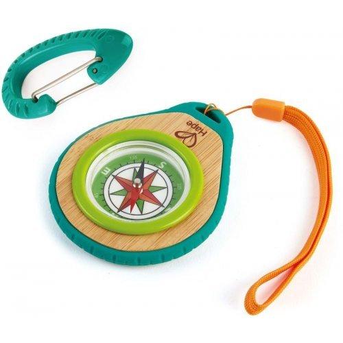 Hape Outdoor Ξύλινη Πυξίδα Compass Set E5575