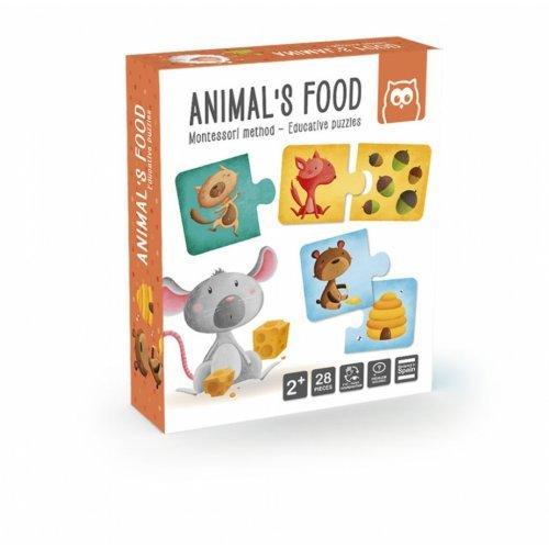 Παζλ - Μαθαίνω Τα Ζώα Και Τις Τροφές Τους EUREKAKIDS 483018