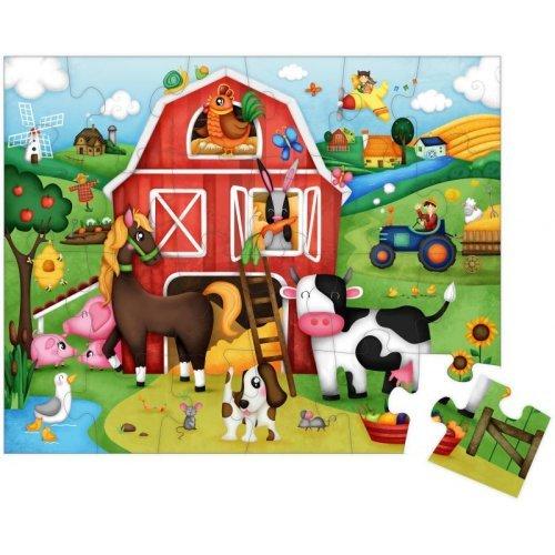 Eurekakids Παζλ Ο Κόσμος Της Φάρμας-26 κομμάτια 68217019