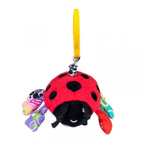 BALI BAZOO Μαλακό Παιχνίδι Πασχαλίτσα DD80171 Vibrative Ladybug 6925783801719