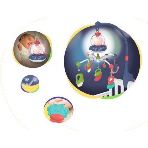 ΜΟΥΣΙΚΟ ΠΕΡΙΣΤΡΕΦΟΜΕΝΟ - KIKKA BOO MUSICAL MOBILE ALL IN ONE PINK 31201010140