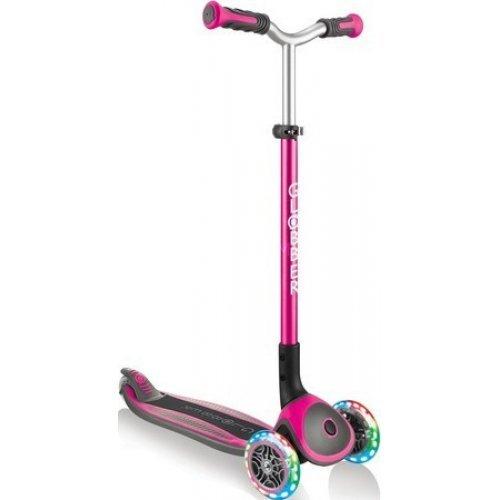Globber Scooter Elite Master Lights Pink 662-110 - (ΔΩΡΟ AΞΙΑΣ €5 ΚΟΥΔΟΥΝΙ)