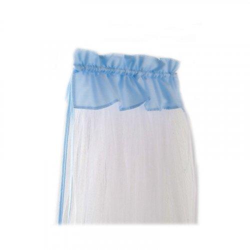 Κουνουπιέρα Κρεβατιού Bebe Stars με ρέλι Blue 602-181