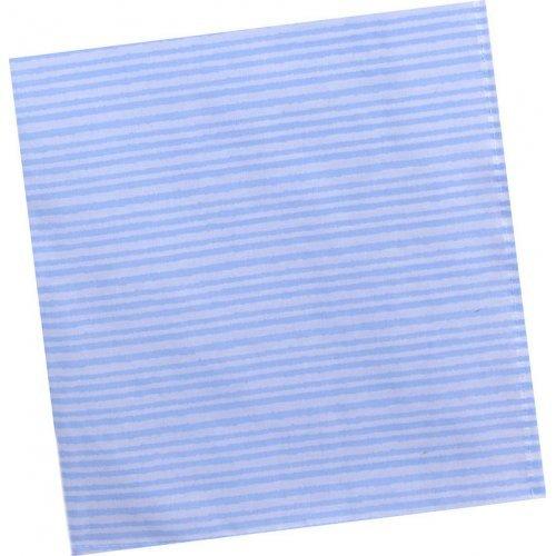 ΠΑΝΑ ΑΓΚΑΛΙΑΣ BABY OLIVER ΜΕ ΣΤΡΙΦΩΜΑ DES 148 80Χ80CM STRIPED BLUE 46-6744/148