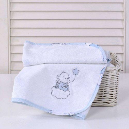 ΣΕΛΤΕΔΑΚΙ ΜΕ ΚΕΝΤΗΜΑ BABY OLIVER 50Χ70 BEAR BLUE 46-6718/167