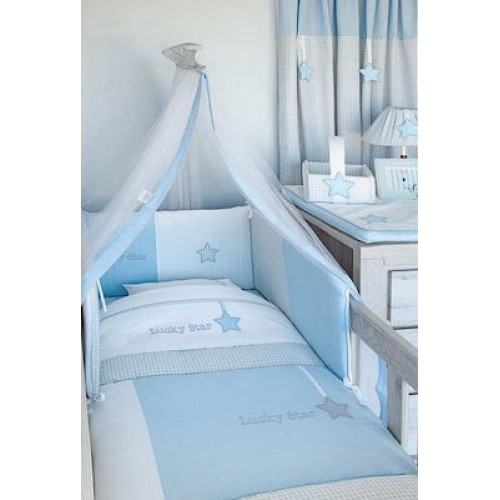 ΣΕΝΤΟΝΙΑ ΚΟΥΝΙΑΣ ΣΕΤ 3 ΤΕΜ BABY OLIVER DES 309 BLUE 46-6706/309