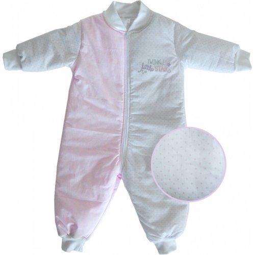 ΥΠΝΟΣΑΚΟΣ ΜΕ ΠΟΔΙΑ BABY OLIVER NO4 DES 352 PINK 46-6774/352