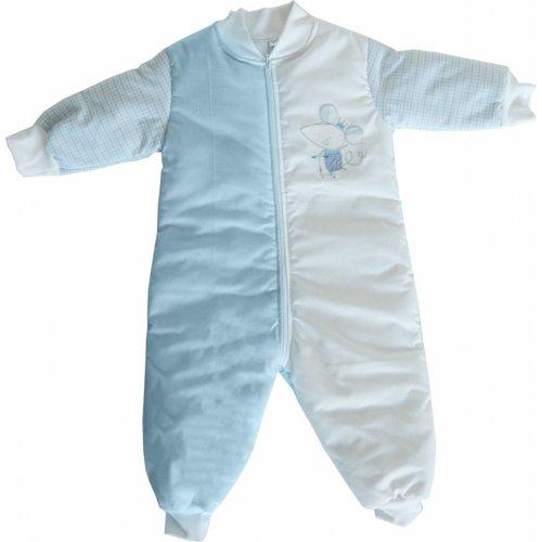 ΥΠΝΟΣΑΚΟΣ ΜΕ ΠΟΔΙΑ BABY OLIVER NO4 DES 351 LIGHT BLUE 46-6774/351