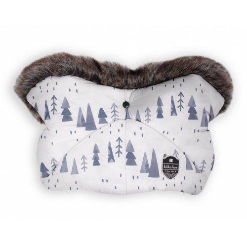 ΓΑΝΤΙ ΚΑΡΟΤΣΙΟΥ KIKKA BOO SHINY NYLON SNOW FOREST 31108040089