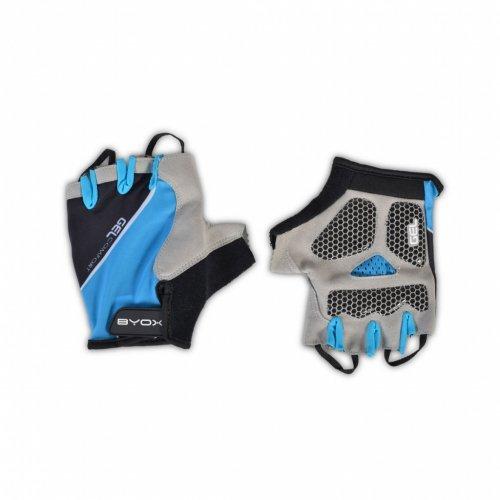 Byox Μισό γάντι Ποδηλάτου AU201 Μπλε Medium 3800146226718