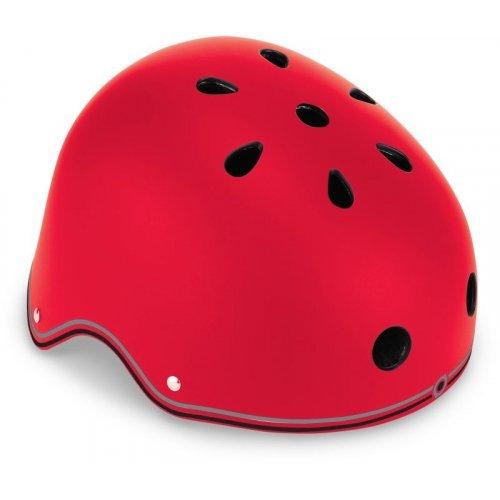 Globber Helmet 48-53cm Primo Lights - Red 505-102