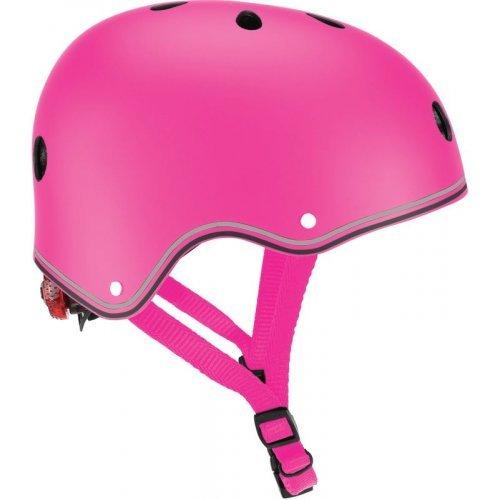 Globber Helmet 48-53cm Primo Lights - Deep Pink 505-110