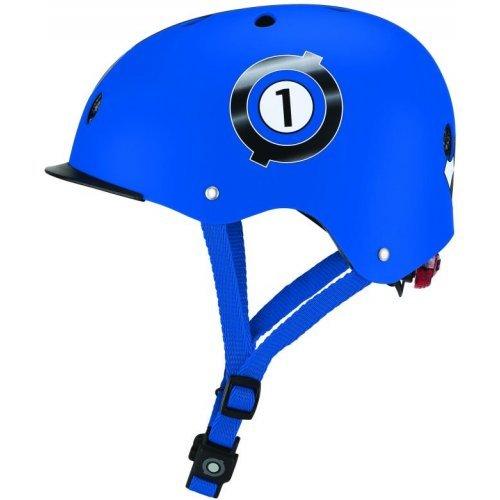 ΠΑΙΔΙΚΟ ΚΡΑΝΟΣ GLOBBER 48-53cm ELITE LIGHTS NAVY BLUE RACING 507-100