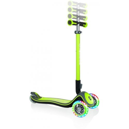 GLOBBER SCOOTER ELITE DELUXE LIGHTS LIME GREEN 444-406 - (ΔΩΡΟ AΞΙΑΣ €5 ΚΟΥΔΟΥΝΙ)