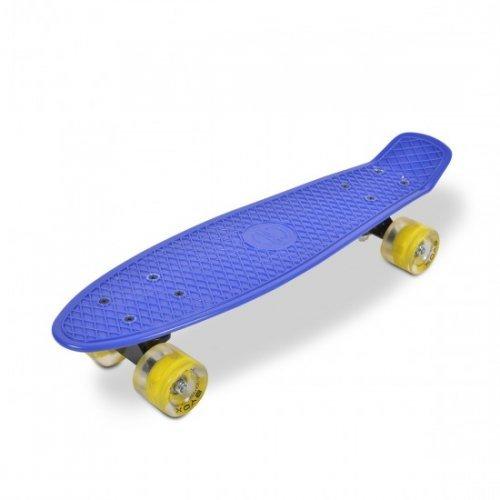 ΣΑΝΙΔΑ BYOX SKATEBOARD 22'' SPICE LED BLUE 3800146226114