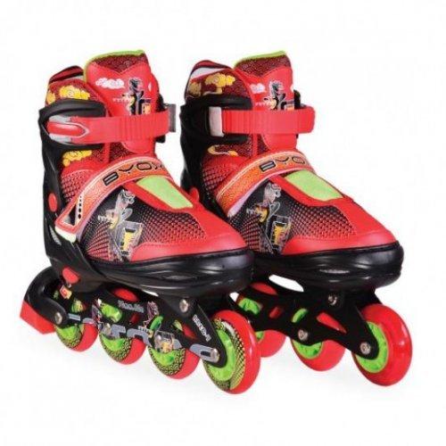 ΠΑΤΙΝΙΑ BYOX ROLLER SKATES MASK L /38-41/RED BLACK 3800146254209