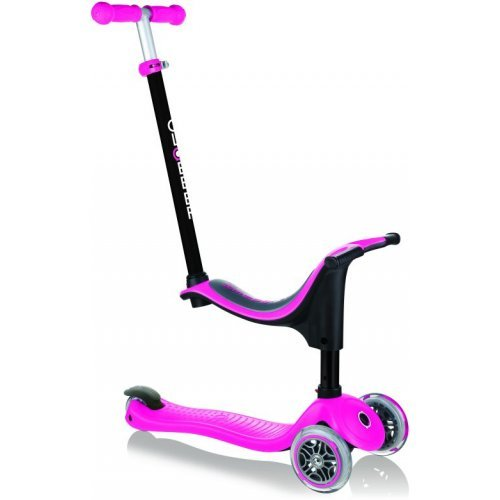 Παιδικό πατίνι Globber Go-Up Sporty Deep Pink 451-110  - (ΔΩΡΟ AΞΙΑΣ €5 ΚΟΥΔΟΥΝΙ)