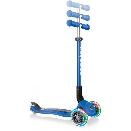 Globber Scooter Primo Foldable Fantasy Lights Racing Navy Blue 434-100 - (ΔΩΡΟ AΞΙΑΣ €5 ΚΟΥΔΟΥΝΙ)