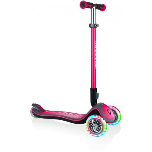 GLOBBER SCOOTER ELITE DELUXE LIGHTS RED 444-402 - (ΔΩΡΟ AΞΙΑΣ €5 ΚΟΥΔΟΥΝΙ)