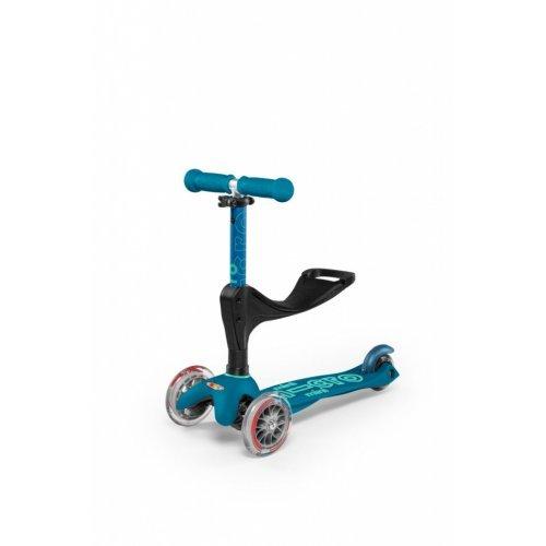 Πατίνι Mini Micro 3in1 Deluxe Plus - Ice blue MMD057 - (ΔΩΡΟ AΞΙΑΣ €5 ΚΟΥΔΟΥΝΙ)