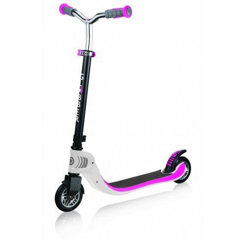 Παιδικό Πατίνι Globber White Pink Scooters Flow 125 - Foldable 473-162  - (ΔΩΡΟ AΞΙΑΣ €5 ΚΟΥΔΟΥΝΙ)