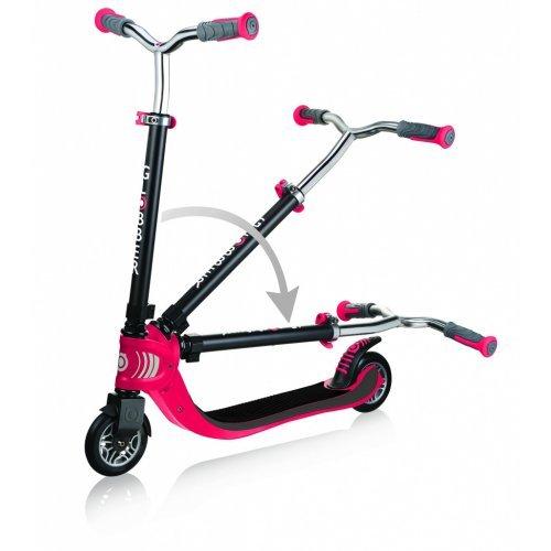 Παιδικό Πατίνι Globber Red Scooters Flow 125 - Foldable 473-102  - (ΔΩΡΟ AΞΙΑΣ €5 ΚΟΥΔΟΥΝΙ)